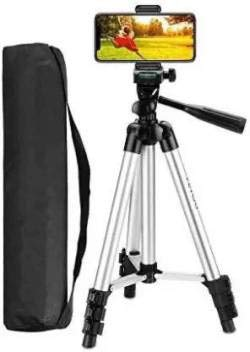 BEAUTYFLY 3110 Tripod Stand with Mobile Clip Holder Bracket for Tiktok Video,YouTube Videos and Strong Body Tripod 3110 Camera, DSLR
