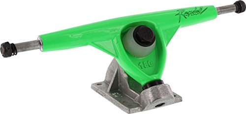 Randal R-II 180mm/50 Neon Green/Raw Trucks (Set Of 2) by Randall   B00N9D12RU