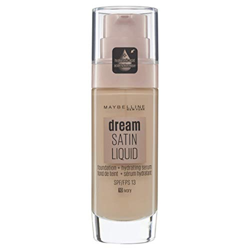 82671bd72 Maybelline Dream Satin Liquid Foundation 10 Ivory 30ml - Buy Online in  Bahrain. | Beauty Products in Bahrain - See Prices, Reviews and Free  Delivery in ...