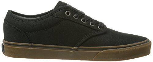 18e3874c6f9a8 Vans Men Black Gum Atwood Shoes - 9 UK  Buy Online at Low Prices in India -  Amazon.in