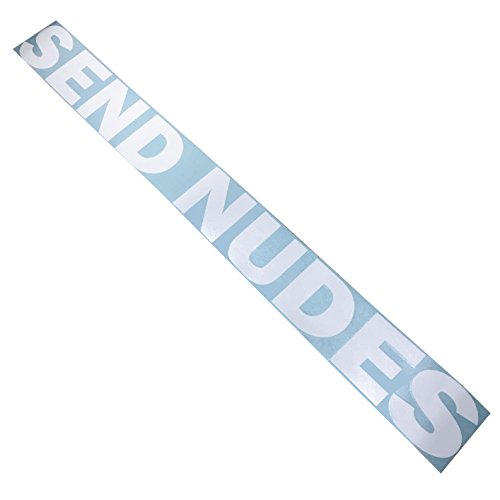 Rdecals Send Nudes Windshield Banner Decal/Sticker 3x33