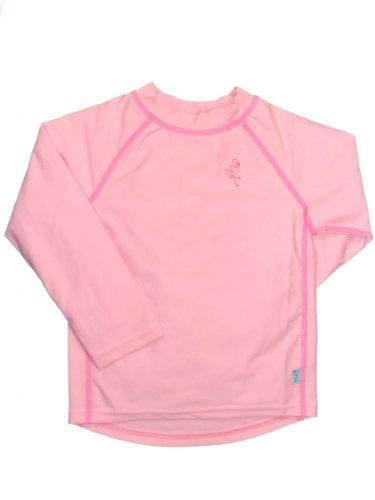 i play. Unisex-baby Infant Long Sleeve Rashguard Shirt, Light Pink, Size 18-24 mo.