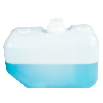2.5 Gallon Natural High Density Polyethylene Tank 7.75'' L x 12.75'' W x 7.75'' H (2.25'' Neck)