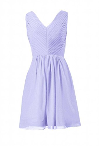 lavender Lady Formal Neckline Short DaisyFormals 7 Dress BM5194 Dress V Party Chiffon 4UnqpH