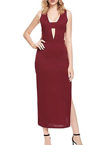 Damen Cocktailkleid Elegant Fashion Festliche Midi Kleider Sommer ...