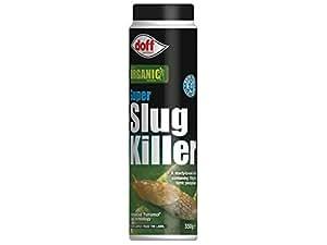 Doff Super Slug Killer Organic Slug and Snail Killer 350g Advanced Ferramol Bait