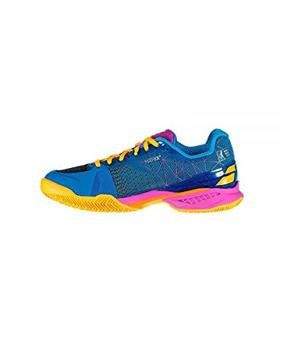 ZAPATILLA DE PADEL BABOLAT JET PADEL WOMAN 2018 39: Amazon ...