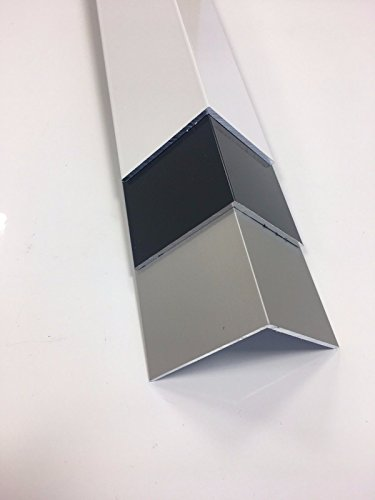 1.9/m B /& T Anthracite RAL 7016/Metal Powder-Coated Aluminium Angle 50/x 40/x 2/mm Length Approx 1,900/mm + 0////–/3/mm