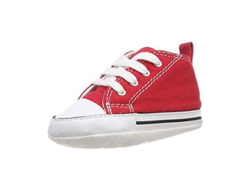 Converse First Star Infant Shoes Red 88875 (3 M US)