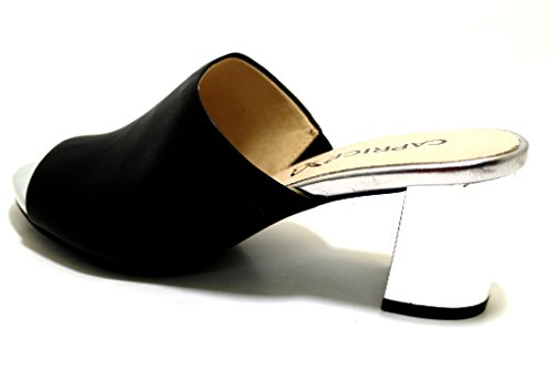 9 30 Black Women`s 27211 Clogs Caprice Fashion 6Fwfqzf