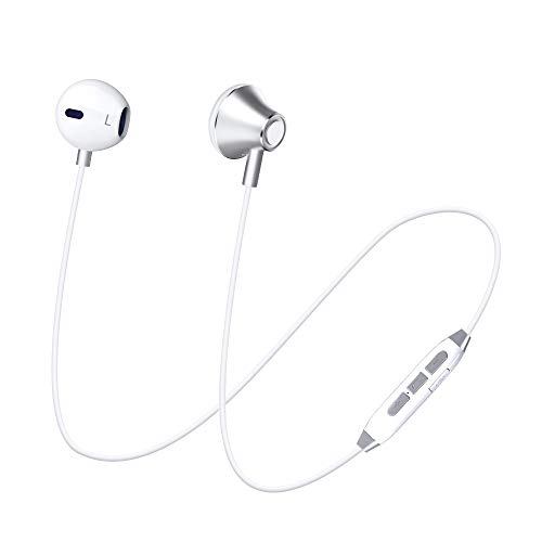 Bluetooth Headphones, GRDE Magnetic Wireless Earbuds, Wireless Sports Earphones Bluetooth Headsets HD Stereo in-Ear Sweatproof Earpieces Compatible for Samsung Galaxy S8/S9 Note 8 and Android Phones