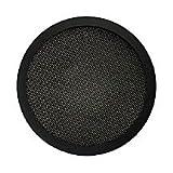 5-1/4-Inch Diameter 2-Pc Mesh Speaker Grill - Black