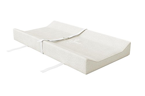 little seeds changing pad, white