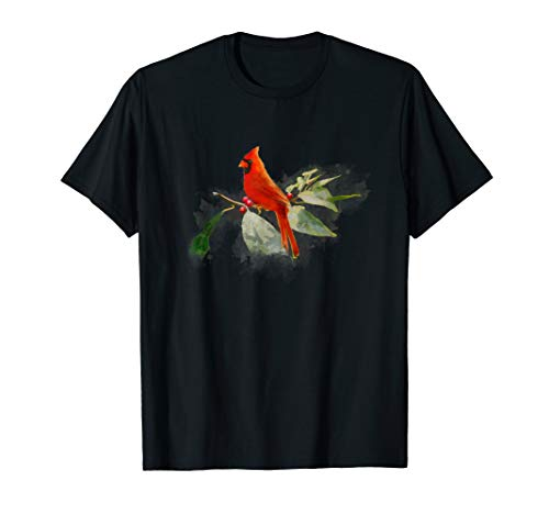 Wild Red Cardinal Bird T-Shirt