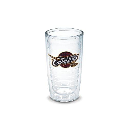 "Tervis 1051498 ""NBA Cleveland Cavaliers"" Tumbler, 16 oz, Clear"