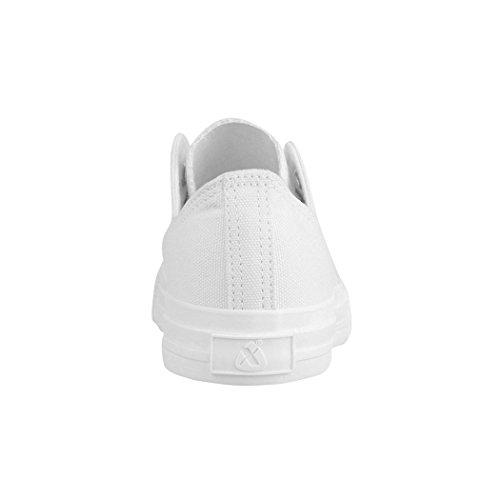 Zapatillas One Colour Weiß mujer para Elara awxdTqHfq