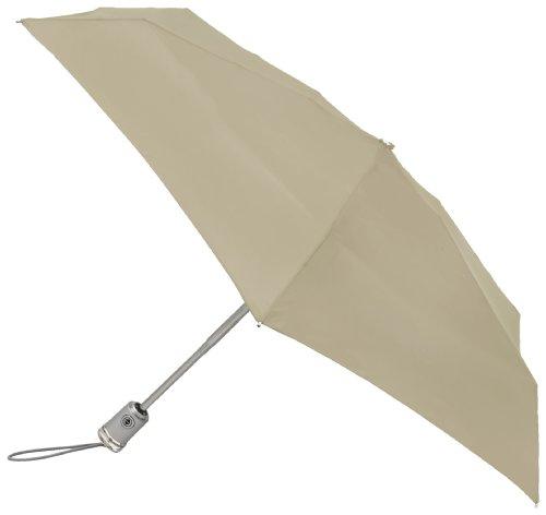 Totes Micro Close Umbrella Khaki