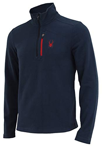 Spyder Men's Transport 1/4 Zip Fleece Pull Frontier M ()