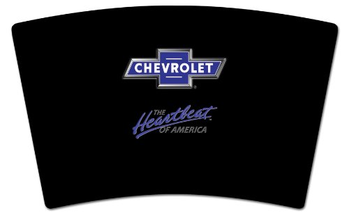 Mugzie GM-122-MAX ''Chevrolet Heartbeat of America Logo'' Stainless Steel Travel Mug with Insulated Wetsuit Cover, 20 oz, Black by Mugzie (Image #2)