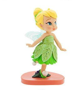 "Disney Fairies Tinkerbell 3"" Toddler Baby Animator Lose PVC Figure Figurine Cake Topper Doll Toy"