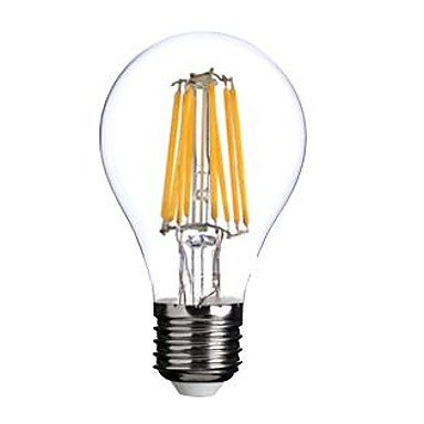 Bombillas, bombillas de inicio, e26/e27 bombillas de filamento led a60 (a19) 8 mazorca 800lm blanco cálido 2800-3200k ca 220-240v Bulbos: Amazon.es: Hogar