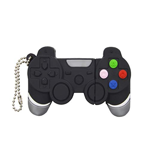 Usb Flash Drive Controller - 16GB USB 3.0 Flash Drive Memory Stick - Creative Pendrive Game Controller Thumb Drive - Black Jump Drive Collection Gift for Boys by FEBNISCTE
