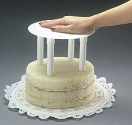 Coast single plate tier separator system 12 stacked cake for Bakery crafts sps tier system