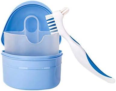 Eruditter Caja Dental Cepillo para Dentaduras Postizas Caja De ...