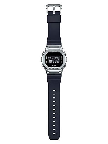 Price comparison product image Men's Casio G-Shock Digital Stainless Steel Metal Bezel Watch GM5600-1