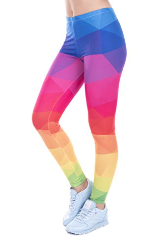 Zohra Printed Women's Sport Outdoor Fitness Leggings (Striped (Contour Soft Shell Pant)