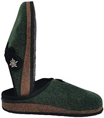 Ciabatte Pantofole Tirolesi Donna Inverno Lana Cotta Fiore del Tirolo Prodotto Artigianale Ecosostenibile