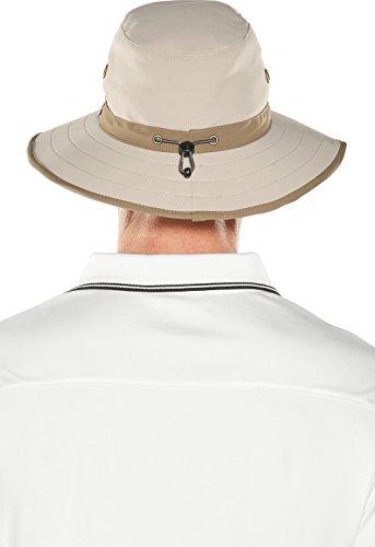 2f9cc4251 Coolibar UPF 50+ Men's Matchplay Golf Hat - Sun Protective (Small ...