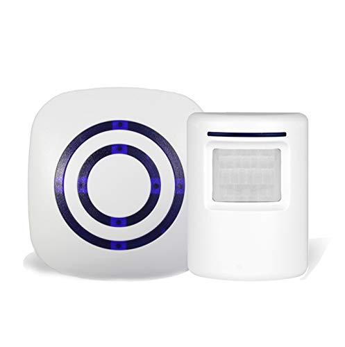 Infrared Motion Sensor Alarm Entry Alert Vistor Doorbell Home Security Driveway Kit (Infrared Alarm)