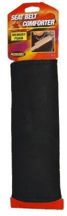 ALLISON 54-1214 Memory Foam Seat Belt Comforter - Black, 1 Pack -