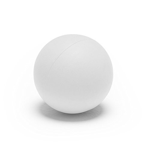 Champion Sports PLW Soft Lacrosse Practice Ball, Pack of 12, White