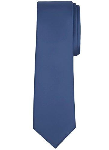 steel blue ties for men - 1