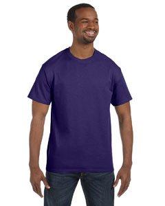 Jerzees Dri-Power Mens Active T-Shirt 2X-Large Deep Purple