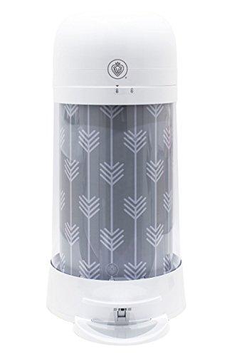 Prince Lionheart Twist`r Diaper Disposal System White Candy Stripe