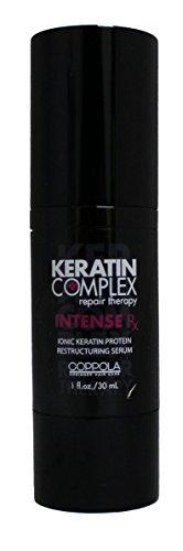Coppola Keratin Complex Intense RX Ionic Keratin Protein Restructuring Serum, 1 Ounce