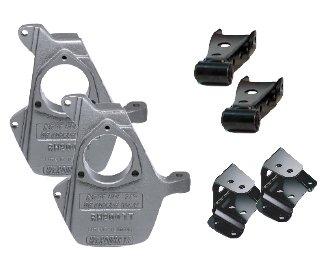 Mcgaughys Drop Shackle (McGaughys Chevy Silverado SS 2/3.5 Lowering Kit 11004)