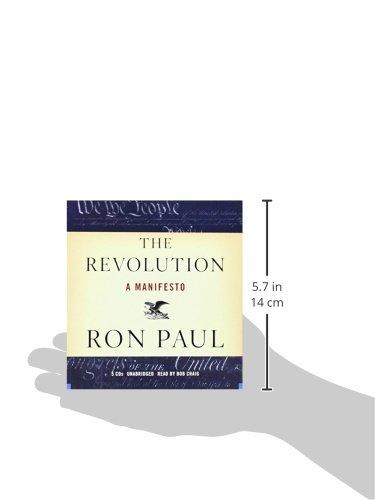 The Revolution: A Manifesto: Amazon.es: Paul, Ron, Craig, Bob ...