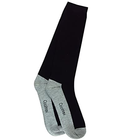 Intrepid International CoolMax Boot Socks, Black SK6013