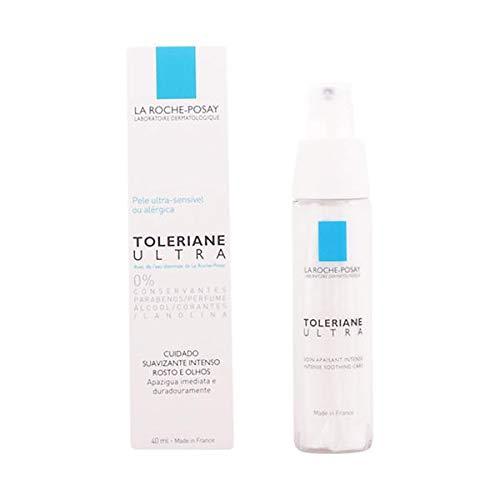 La Roche-Posay Toleriane Ultra Sensitive Skin Face Moisturizer Intense Soothing Care, Allergy Tested, 1.35 Fl. Oz.