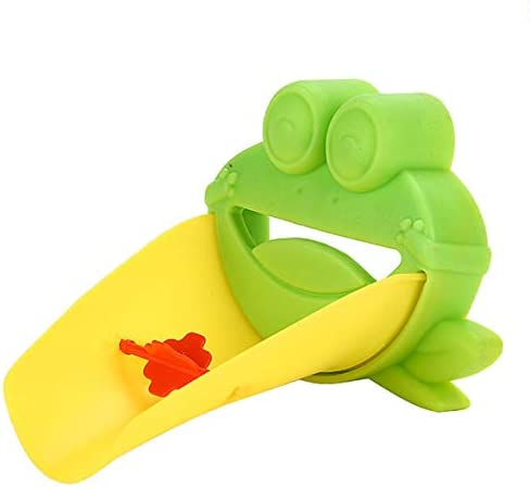 Bibipangstore クリエイティブ柔軟な蛇口エクステンダーシンクハンドル拡張幼児子供プラスチック浴室子供手洗いヘルパー