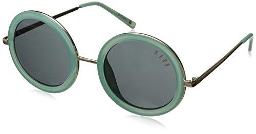 Neff Men's Runaway, Mint, One - Brodie Neff Sunglasses