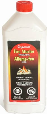 NIB 12/PACK IMPERIAL MANUFACTURING KK0083-A FIRE STARTER GEL IMP 32OZ by Imperial Mfg Group Usa