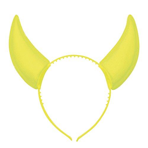 Fancy Headband Accessory Horn Coloured Neon Devil Boland Rave BV Dress w0TqBxv