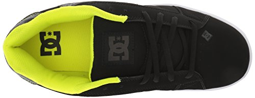 Shoes Lime DC GL1 Shoes Net Sneaker Men's Black Low Top Green qfZBpY