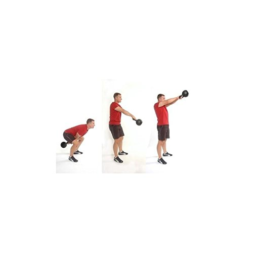 LiveUP Sports - Kettlebell 6kg Hierro Goma Pesos Manija Cromo Fitness Crossfit Training: Amazon.es: Deportes y aire libre
