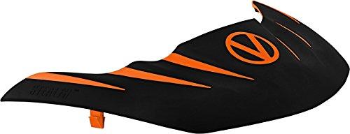 Virtue Stealth Paintball Mask Visor for VIO Contour/Extend / Dye I4 / Empire E-Flex / V-Force Grill/Profiler and More - Orange / Black